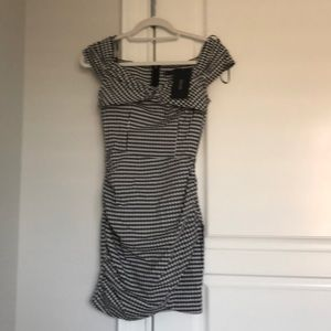 Zara gingham mini dress